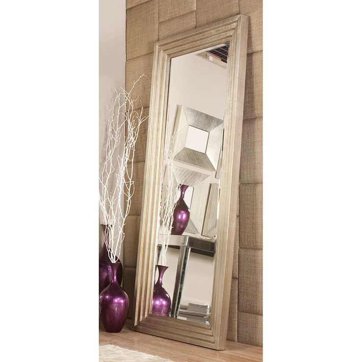 Thinking about it...Delano Silver Leaf Oversized Mirror - 34W x 82H in. $479.98