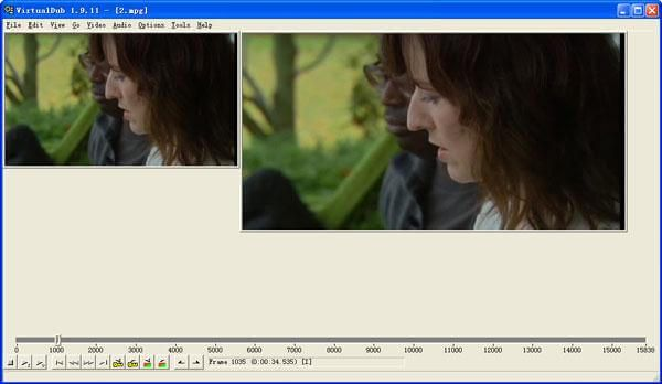 VirtualDub is a powerful free video editing software for Windows with many amazing features, such as compression, video splitting, and the addition of audio tracks.
