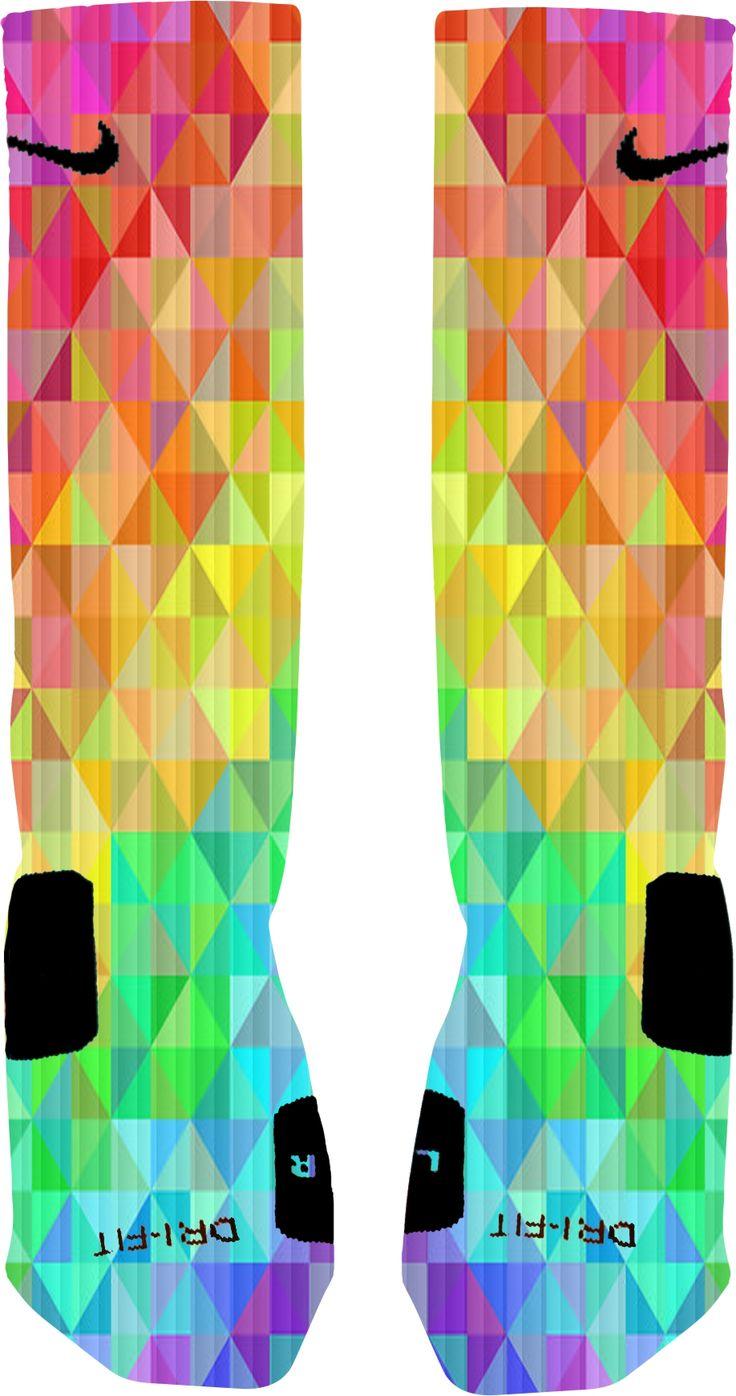 Prism Custom Nike Elite Socks