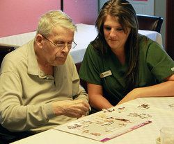 Professional caregiver Amanda, takes time to learn about her residents and often able to suggest and implement ideas to make their lives more meaningful. Read Amanda's story and cast your vote: http://www.caring.com/local/memory-care-facilities/champions/2014/caregiver-amanda-s