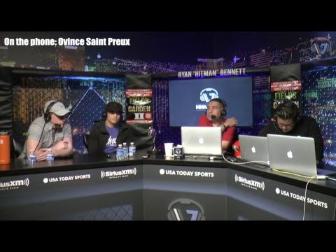MMA Ovince Saint Preux, Abel Trujillo, Ryan Benoit and Ricky Lundell are on today's show.