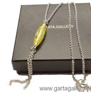 Naszyjnik z włoskim szkłem w stylu BOHO - LORA