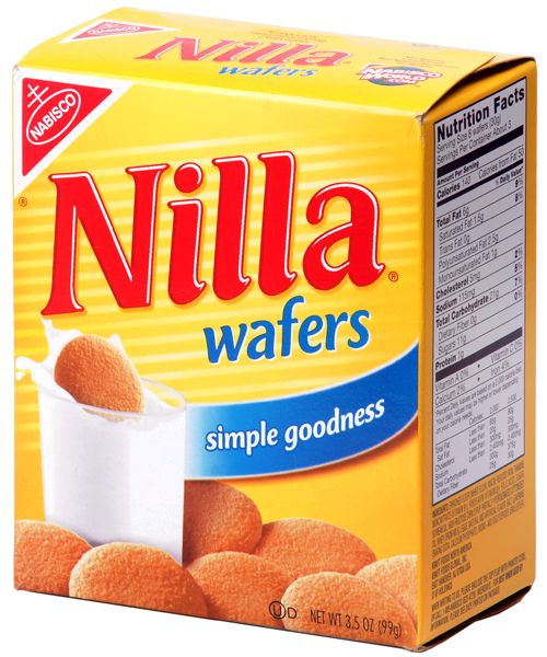 Nabisco Nilla Wafers Logo - we would always find the Nillas in a pink glass cookie jar at our great grandparents' house  :)