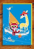 Marc Boutavant Card, cool cards & wrap | The KID Who