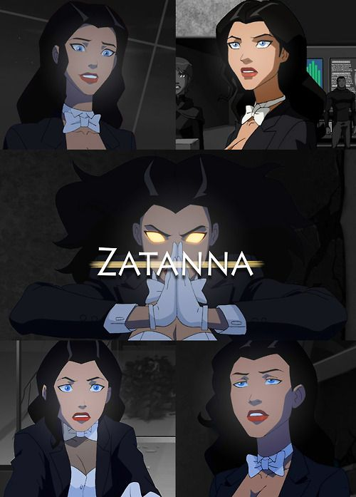 YJ Zatanna. Officially my favorite JL/YJ female!