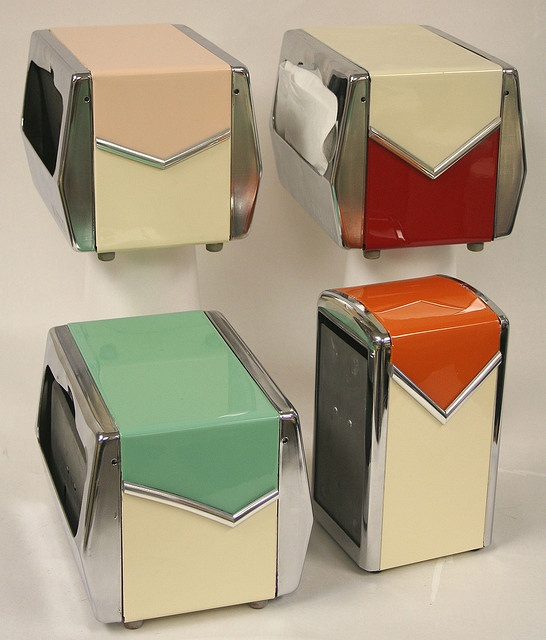 restored diner napkin dispensers