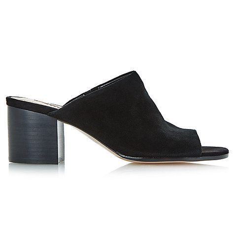 Buy Dune Jupita Block Heeled Mule Sandals Online at johnlewis.com