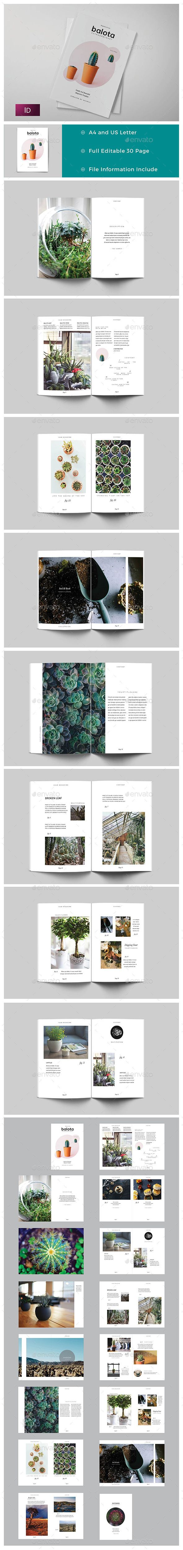 Balota Magazine / Portfolio Template 	InDesign INDD. Download here: http://graphicriver.net/item/balota-magazine-portfolio/15802680?ref=ksioks