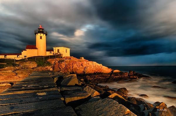 Eastern Point Lighthouse is situated at the eastern tip of Massachusetts Gloucester Harbor. Known as America's oldest seaport, the harbor has supported fishermen, whalers, traders, and even smugglers since 1616.