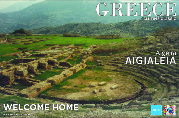 Ancient Theatre of Aigeira, Aigialeia, Achaia, Corinthia, Greece — by Hellenic Travel & Events (HTE). The magnificent, entirely sculptured in the mountain, 5th ce. B.C. theatre of Aigeira. Aigeira, also known as...