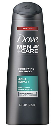 Dove Men+Care Fortifying Shampoo, Aqua Impact 12 oz