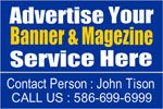 Advertise your any event and party, services anything on custom vinyl banner in cheap rate online at bannerbuzz.ca