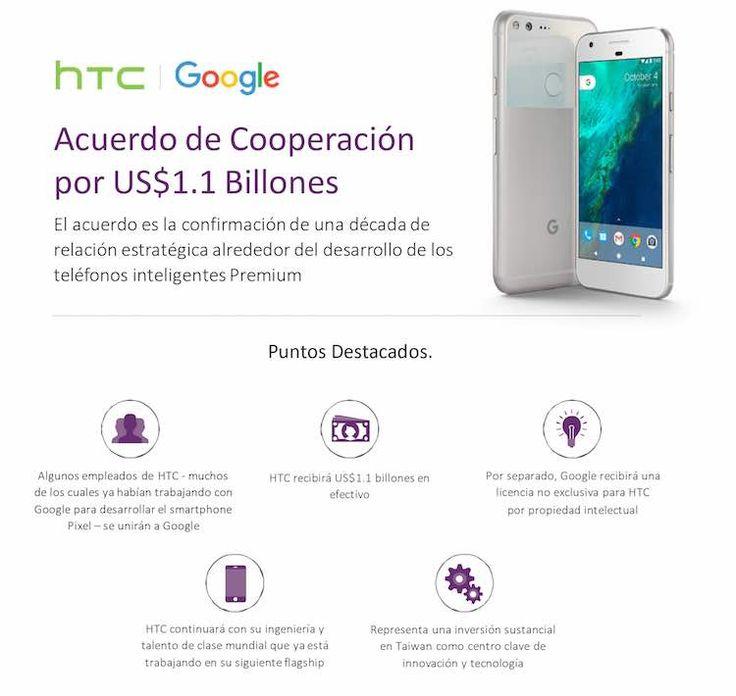 htc-google Tenemos una nueva alianza y es millonaria: Google y HTC