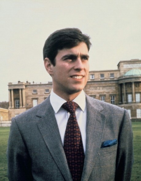 young prince andrew saw him while in greenwich england