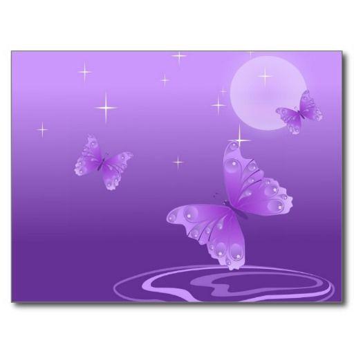 Butterfly-69998 cartoon butterfly purple white vec ...