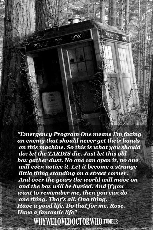 Emergency program one.