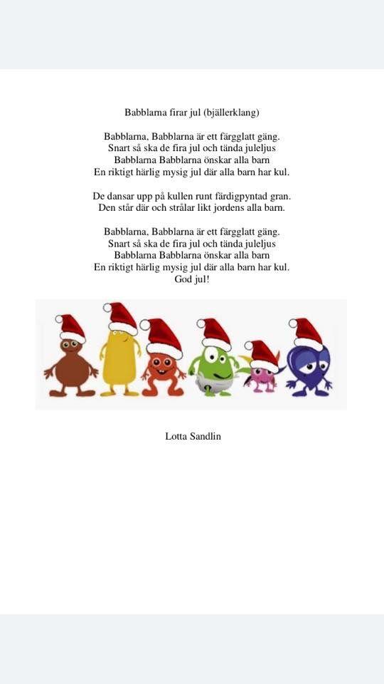 Babblarna firar jul