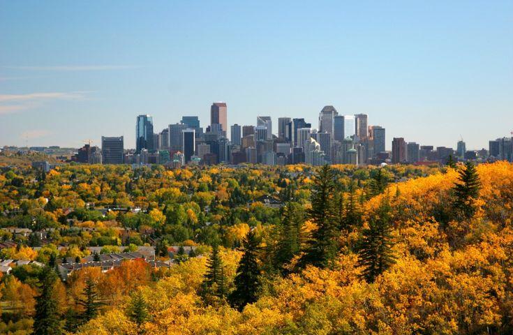 Calgary Skyline, Alberta
