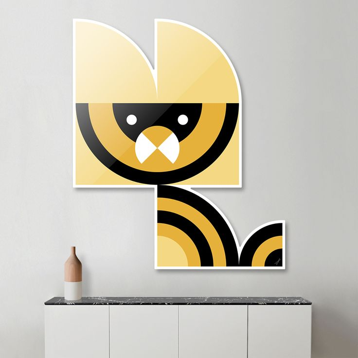 #Quadrant #Animals #Geometric #Wallart #Decor Series by Vaggelis Arabatzoglou! Available in a variety of #Art #Prints on #Curioos!
