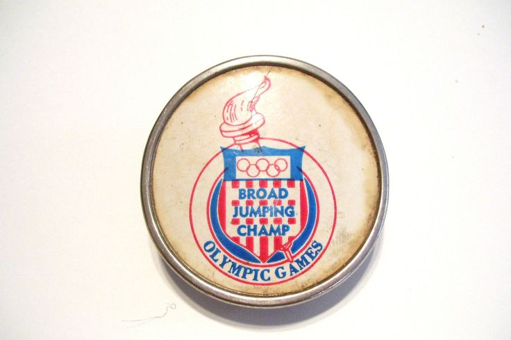 Olympics Games Belt Buckle 1930s-1940s Broad Jumping Champ Memorabilia Vintage by okanaganvintage on Etsy