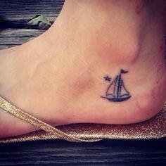 miniature tattoos sailboat - Google Search