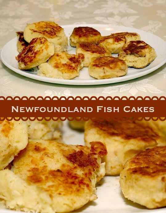 Newfoundland Fish Cakes - one of our most searched for Newfoundland recipes is this one for traditional Newfoundland fish cakes which have been made for countless generations using the most basic of ingredients like potatoes, salt fish and onions. Best served with scrunchions!