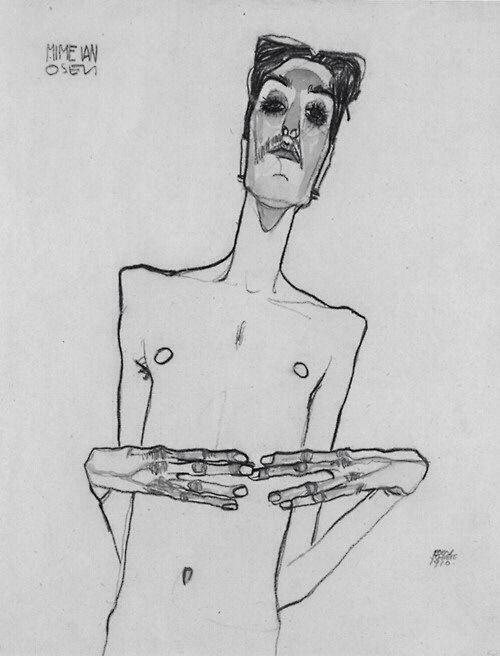 emptyparkinglot2am:  Egon Schiele