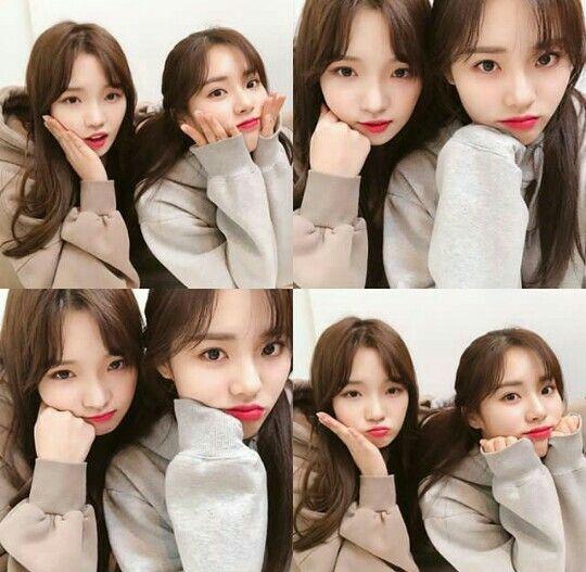 Fromis_9 / Jisun and Jiwon