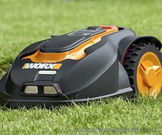 Landroid the Robotic Lawn Mower brings the latest tech right to your yard. It eliminates all the sweat, hard work and upkeep required to keep a perfect lawn for your house. Think of it as a fully autonomous mowing machine, you don't have to lift a finger and it will keep your lawn freshly mowed forever. It comes pre-programmed out of the box and thanks to its special sensors it will do the hard work at regular intervals. Obstacles, inclines ..