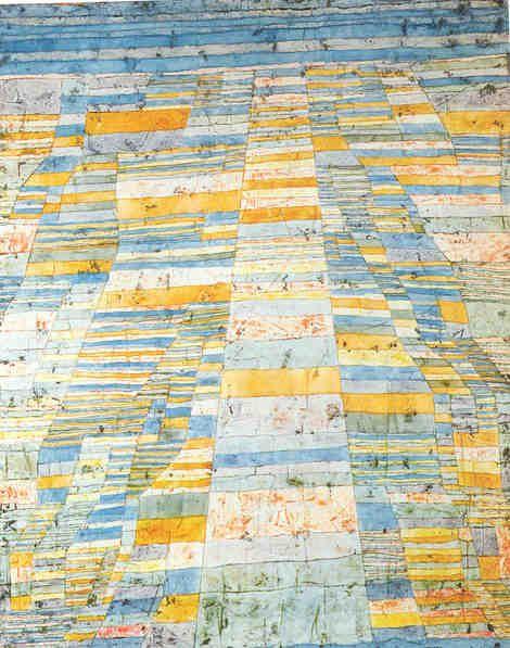 Paul Klee, Strada principale e strade laterali, 1929 on ArtStack #paul-klee #art