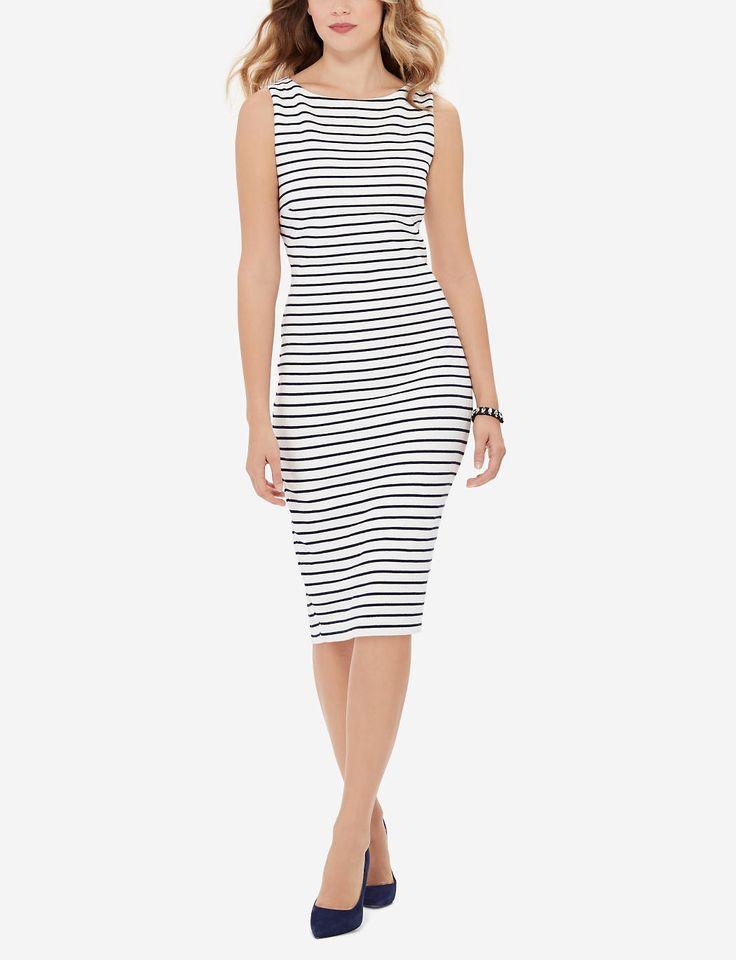 Striped Sheath Dress | Nautical Bodycon Dress | THE LIMITED