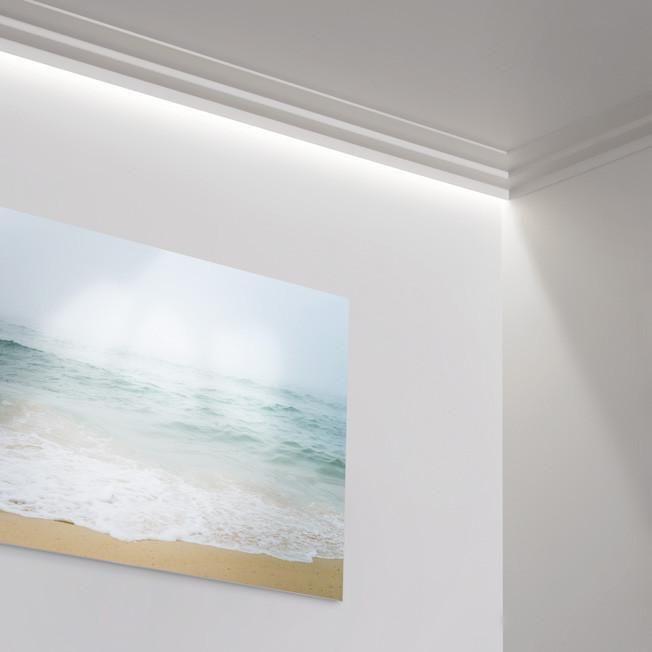 Pi di 25 fantastiche idee su illuminazione indiretta su for Cornici per soffitto