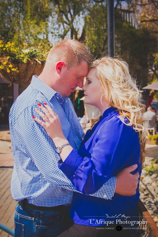 Engagement Photo shoot @ FrenchToast Koffee Kafee Hartebeespoort Photographer Danie L Meyer L'Afrique Photography