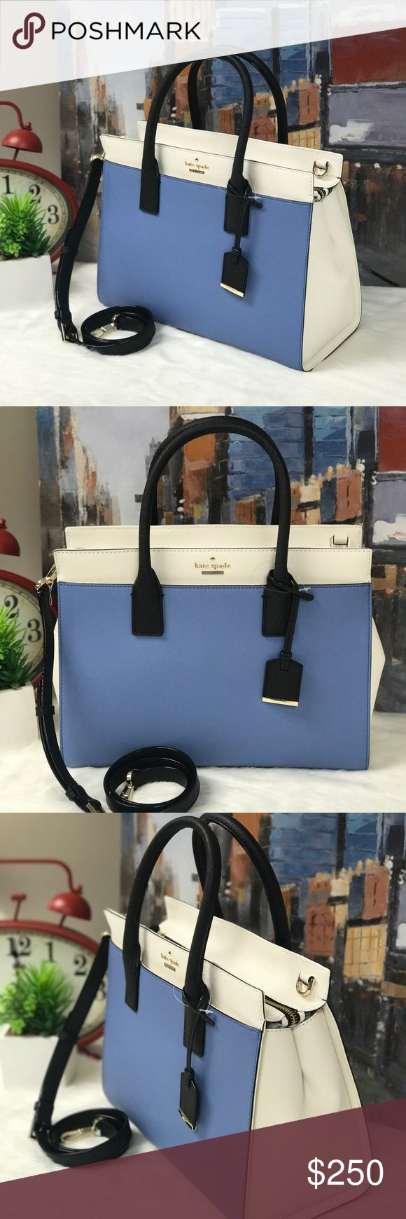 Kate Spade Cameron Street Large Candace 🦋This Satchel is super elegant and always in style. The material is easy to clean and you have all the spaces you need for all your stuff. kate spade Bags Satchels