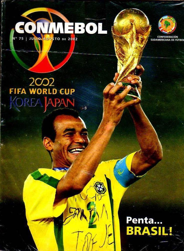 BRAZIL CHAMPION SOCCER WORLD CUP KOREA - JAPAN 2002 - Magazine  | eBay