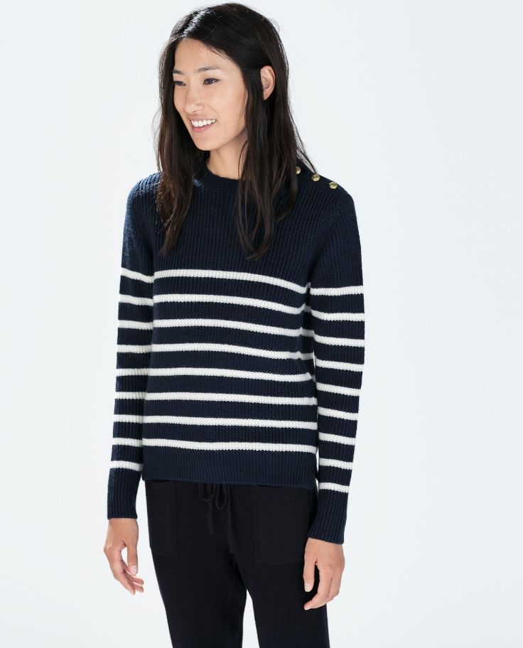 zara-blue-striped-sweater-with-shoulder-buttons-