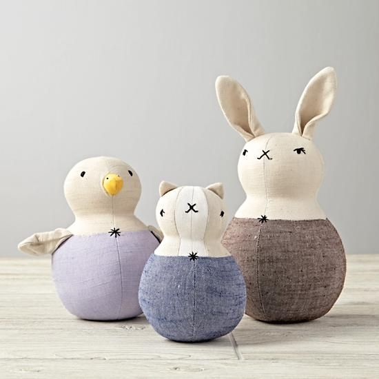 Rabbit Wobble Rattle | The Land of Nod- by the POLKA DOT CLUB