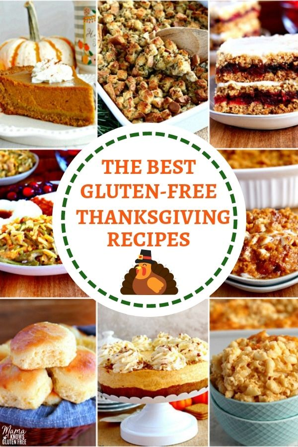 The BEST gluten-free Thanksgiving Recipes! From side dishes, dinner rolls, to de…