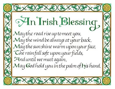 ♥ The Irish Blessing ♥: The Roads, St. Patties, Roads Rise, Faith, Irish Blessing, St. Patrick'S Day, Happy St., Favorite, Irish Blessed Quotes