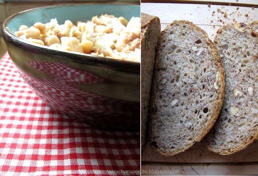Chleb żytni na zakwasie z orzechami włoskimi - J.Hamelman