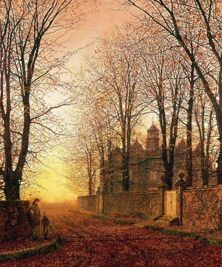 42 pins  -   * In the Golden Olden Time, c.1870 by John Atkinson Grimshaw (1836-93)