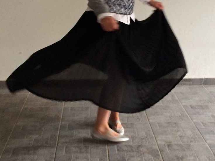 #skirt #music #dance #maxi #black