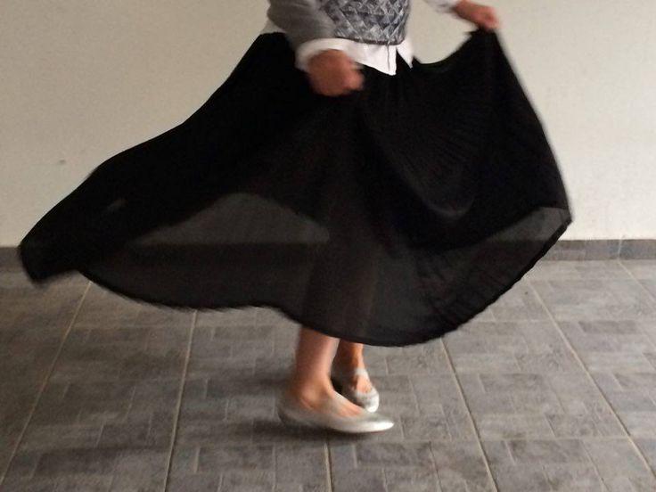 #skirt #music #dance #maxi #black
