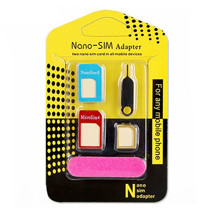 Find More Adapters Information about 10PCS Nano SIM Card Adapters 5 in 1 Nano Sim + Regular & Micro Sim + Standard SIM Card Tools for iPhone 4 4S 5 5S 6 6S SE 7 Plus,High Quality nano sim card adapter,China sim card adapter Suppliers, Cheap nano sim from Geek on Aliexpress.com