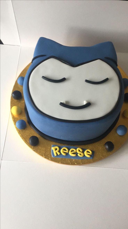 Snorlax Cake Picture