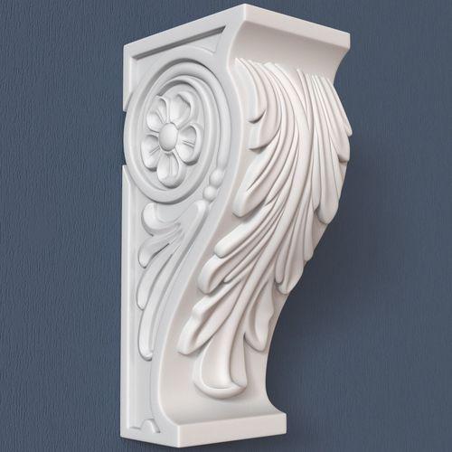 30 decorative corbels collection 3d model max obj fbx ma mb 17