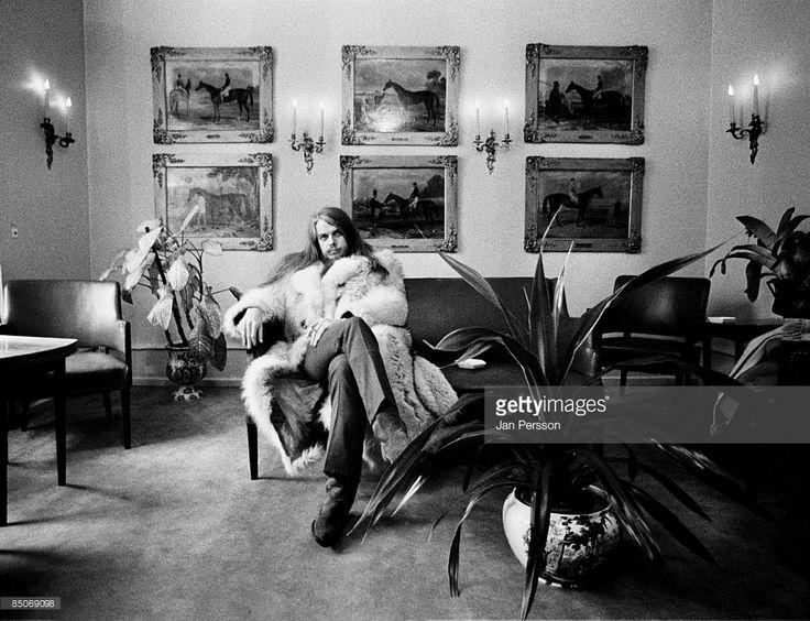 Photo of Leon Russell 1; Leon Russell Copenhagen February 1971
