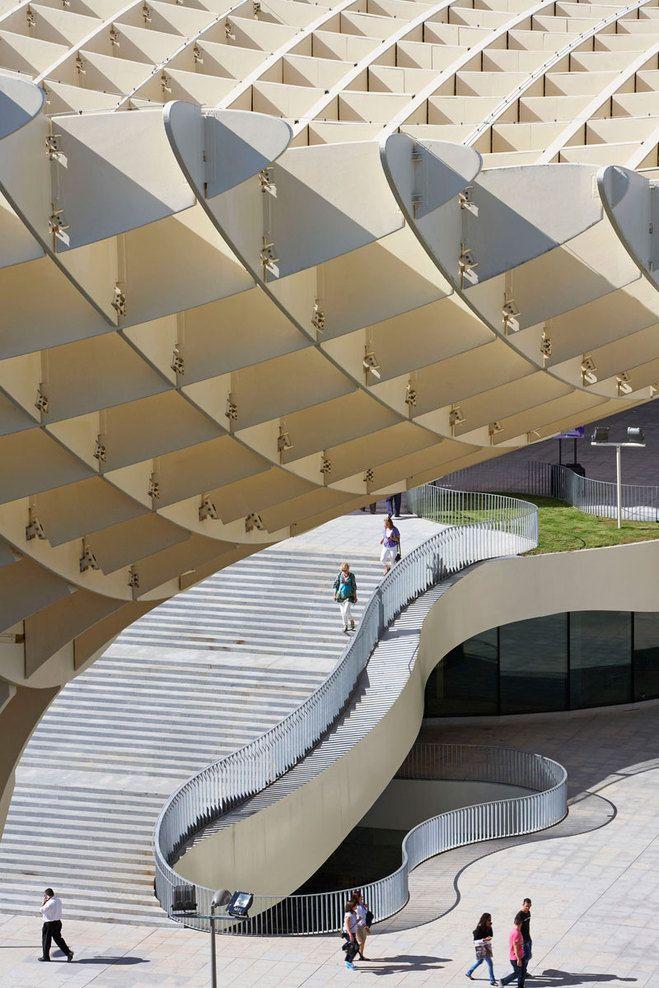 Plaza de la Encarnación Sevilla ( J. Mayer, architects) http://www.costatropicalevents.com/en/cultural/city.html