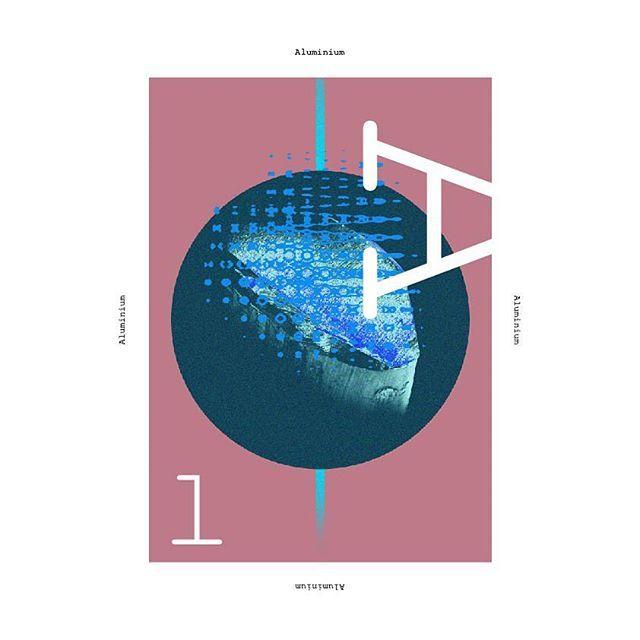 Aluminium #poster #graphicdesign #metal #aluminum #chemicalelements