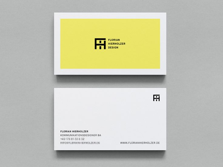 Business Card Design: 56 Awesome Examples to Inspire You | HeyDesign